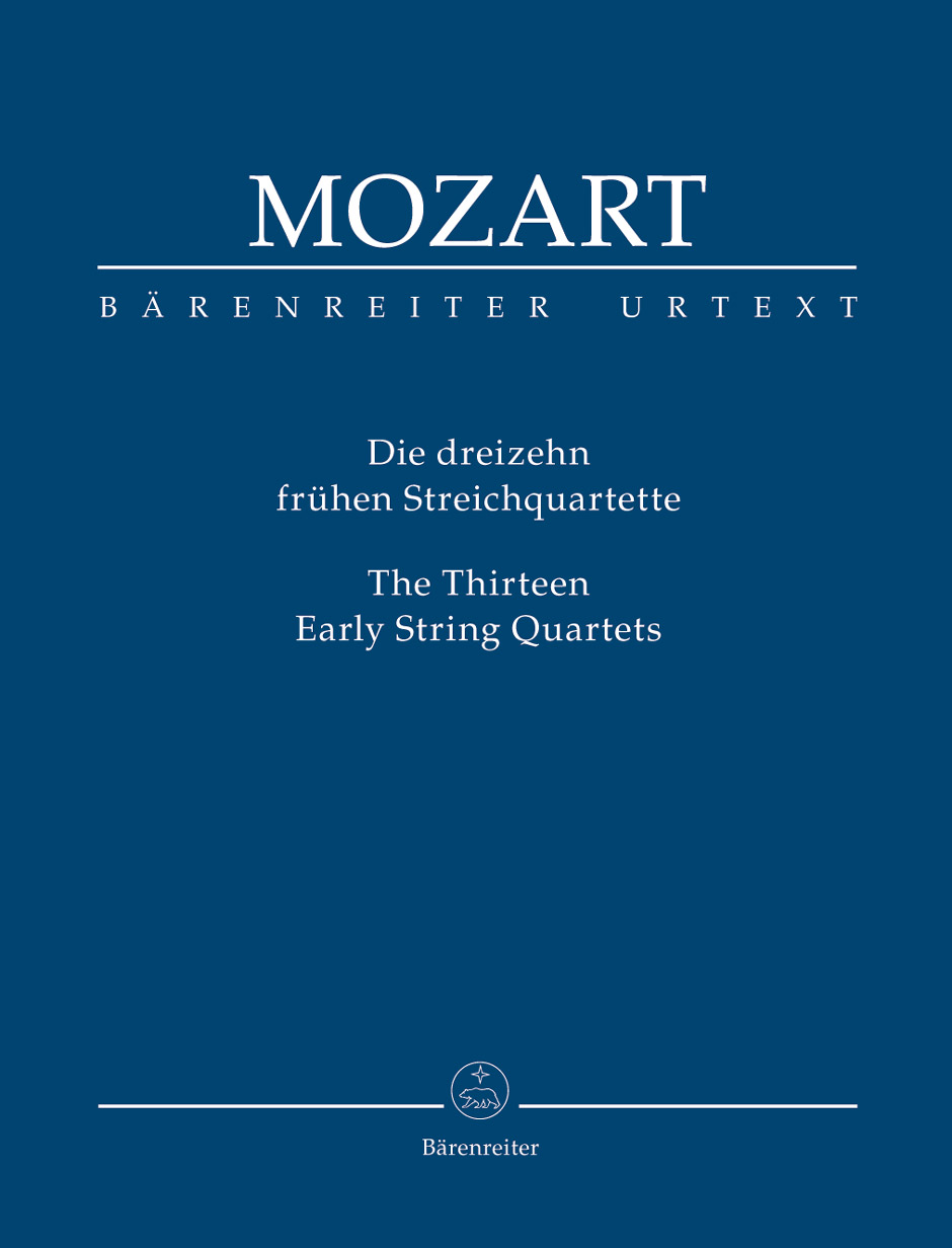 13 Early String Quartets