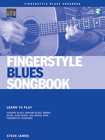 Fingerstyle Blues Songbook  Cover