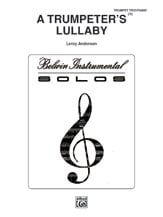 A Trumpeter's Lullaby brass sheet music cover