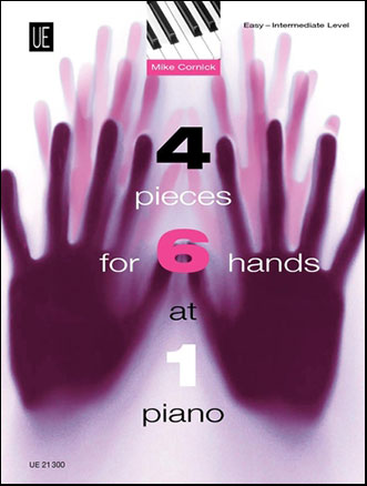 Four Pieces for Six Hands at One Piano