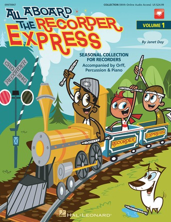 All Aboard the Recorder Express Volume 1