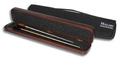 Mollard Baton Hardwood Case