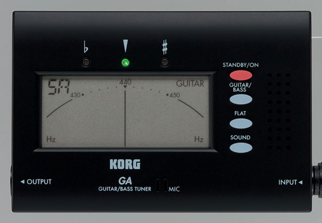 Tuner Korg Guitar and Bass