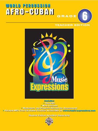 Music Expressions 6 World Percussion Afro Cuban