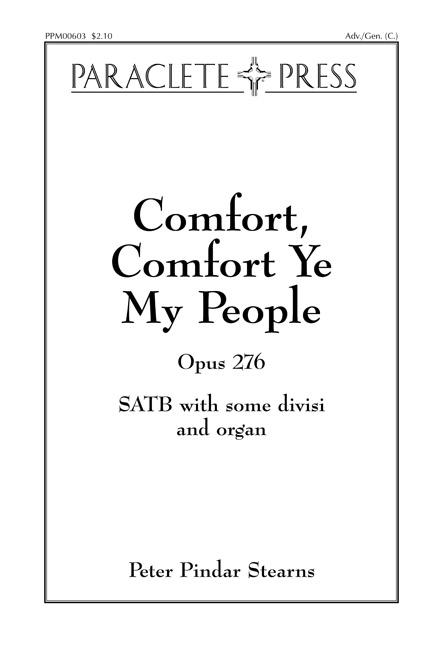 Comfort Comfort Ye My People