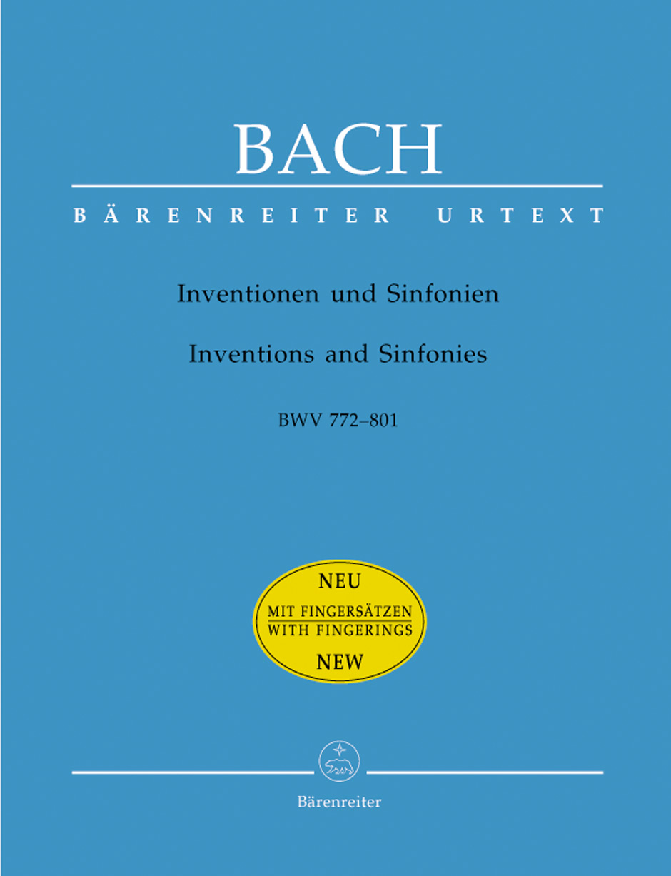 Inventions and Sinfonias, BWV772-801
