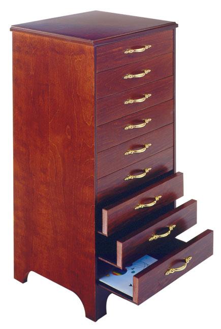 Music Storage Cabinet