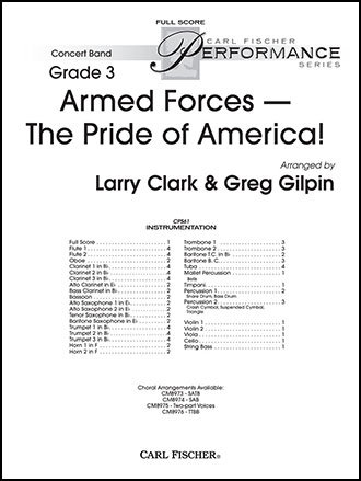 Armed Forces - The Pride of America Cover