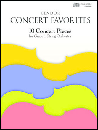 Kendor Concert Favorites - Volume 1