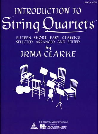 Introduction to String Quartets Volume 1 string sheet music cover