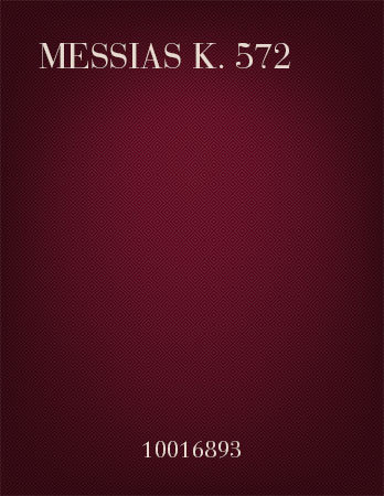 Messias K. 572