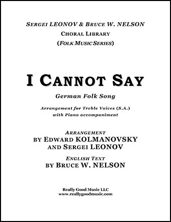 I Cannot Say