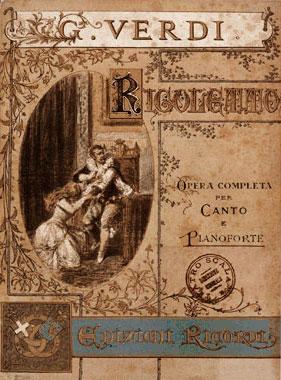 Rigoletto Replica Ricordi Opera Poster