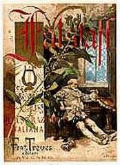Falstaff Replica Ricordi Opera Poster
