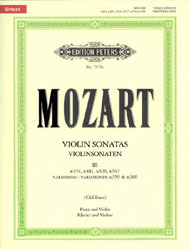 Violin Sonatas, Vol. 3