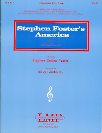 Stephen Foster's America woodwind sheet music cover