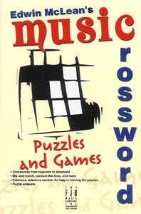 Music Crossword Puzzles and Games Cover