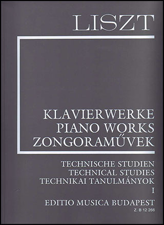 Piano Works Technical Studies, Vol. 1