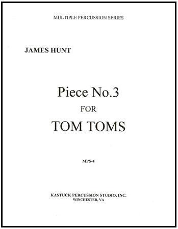 Piece No. 3 for Tom Toms