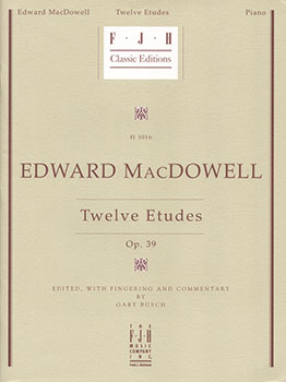 Twelve Etudes Opus 39
