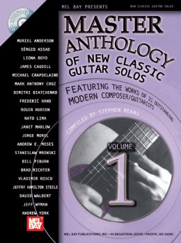 Master Anthology of New Classic Guitar Solos