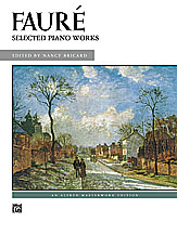 Faure Selected Piano Works