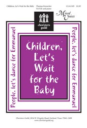 Children Lets Wait for the Baby