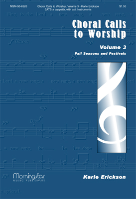 Choral Calls to Worship No. 3