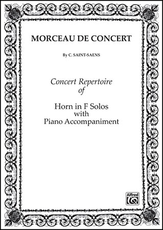 Schirmer Four Horn Concertos And Concert Rondo for The Horn with Piano Accomp G