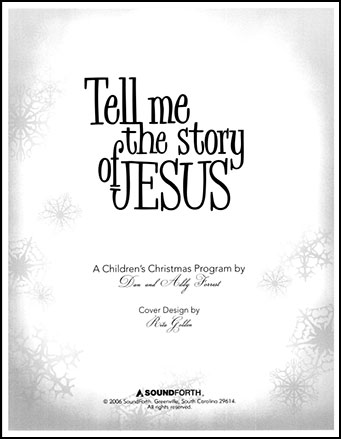 Tell Me the Story of Jesus Cover
