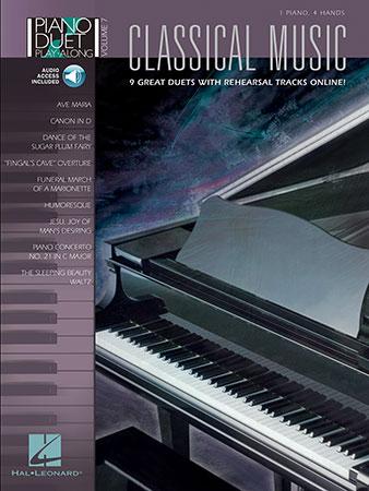 Piano Duet Play along No. 7 Classical Music