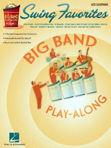 Big Band Play-Along Volume  1 - Swing Favorites