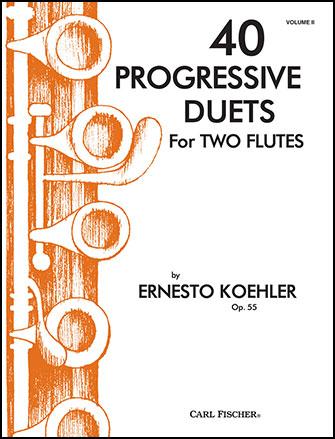 40 Progressive Duets No. 2-Flute Duet