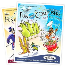 Fun with Composers Just for Kids