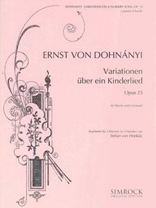 Variations on a Nursery Song, Op. 25