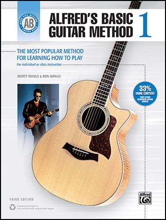 Alfred's Basic Guitar Method Book #1