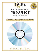 Selected Works for Piano Mozart