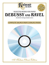 Selected Works for Piano Debussy and Ravel
