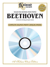 Selected Works for Piano Beethoven