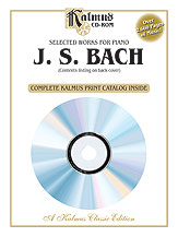 Selected Works for Piano Js Bach