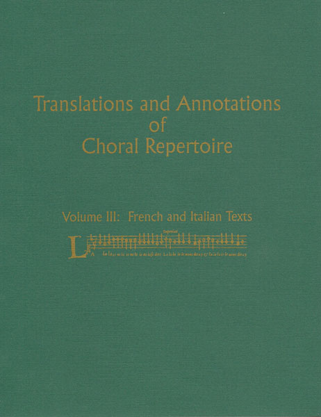 Translations and Annotations, Vol. 3