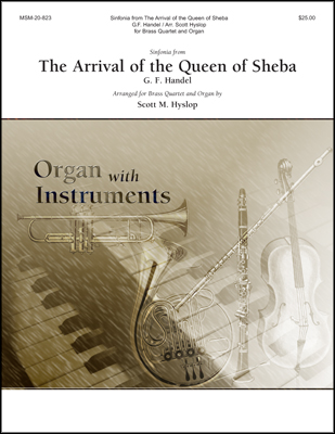 Sinfonia from Arrival of the Queen of Sheba