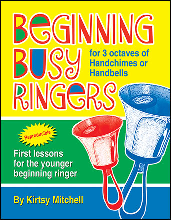 Beginning Busy Ringers  handbell sheet music cover
