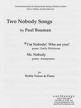 I'm Nobody Who Are You