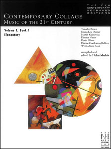 Contemporary Collage Music of the 21st Century No. 1 Book No. 1