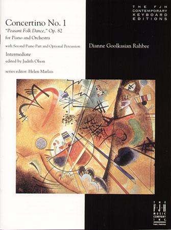 Concertino No. 1 Peasant Folk Dance Op. 82