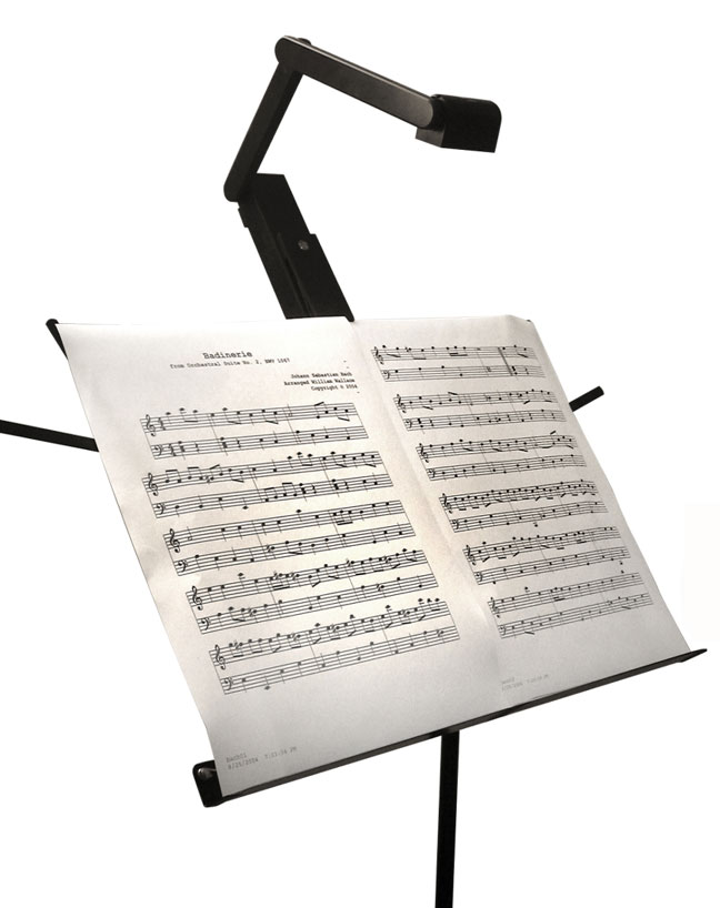 LampCraft GigLight Music Stand Light