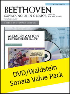 Memorization DVD with Free Beethoven Sonata Value Pack