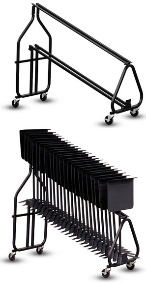 Hamilton Music Stand Storage Cart