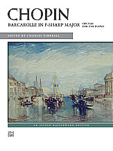 Barcarolle in F Sharp Major Op. 60